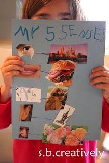 s.b.creatively: My Five Senses Activity