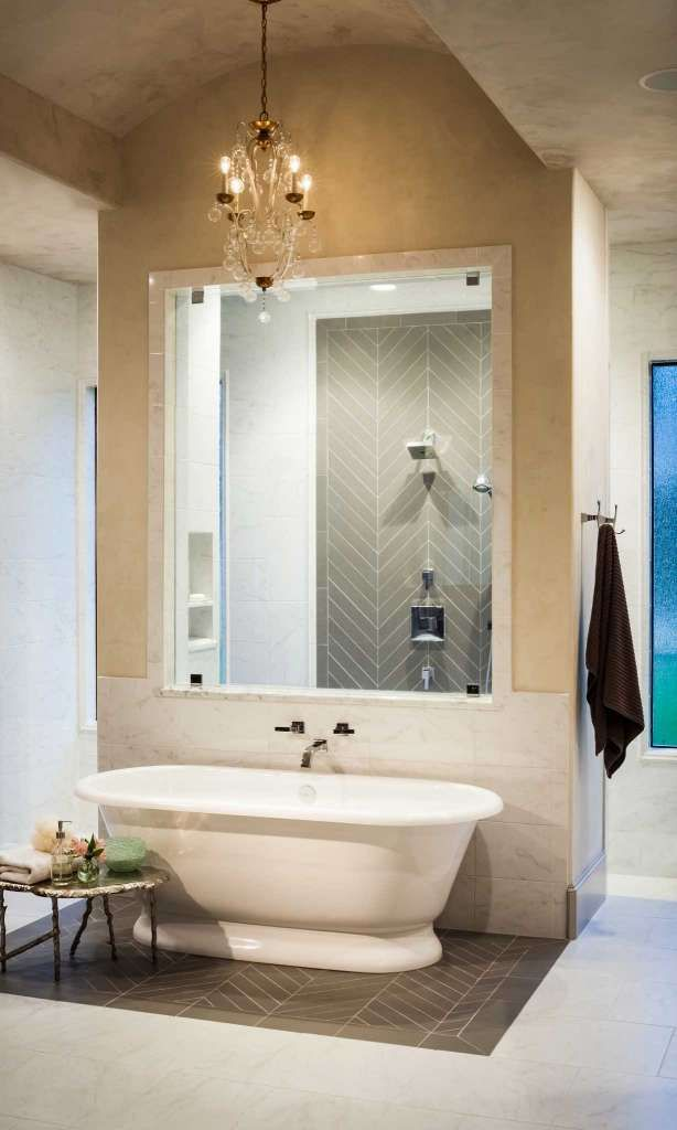Bathroom design inspiration from your neighbors bathroom design inspiration stand in and showers - Bathtub in shower ...