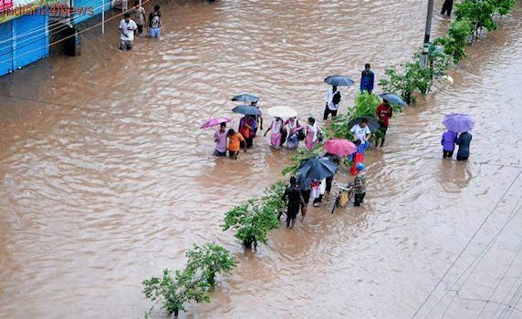 Assam: One electrocuted in flooded road in Guwahati; third death in one week