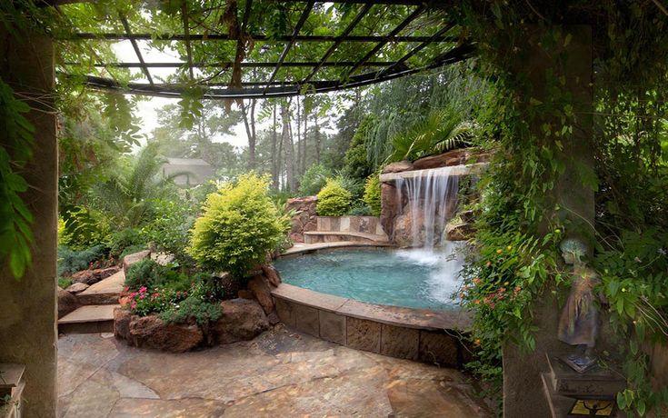 155 best outdoor living images on pinterest decks for Secret garden pool novaliches