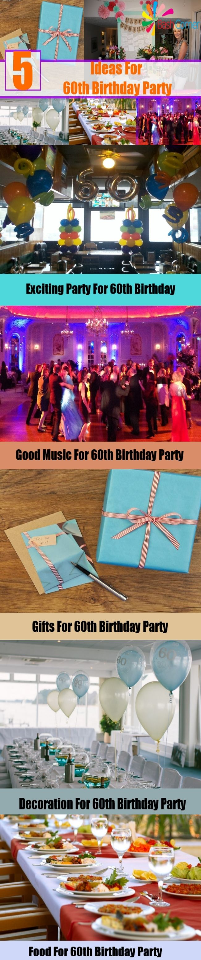 55 best 60th Birthday Celebration Ideas images on Pinterest