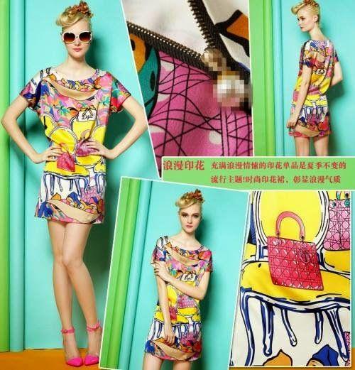 let's shop here : Print Dress