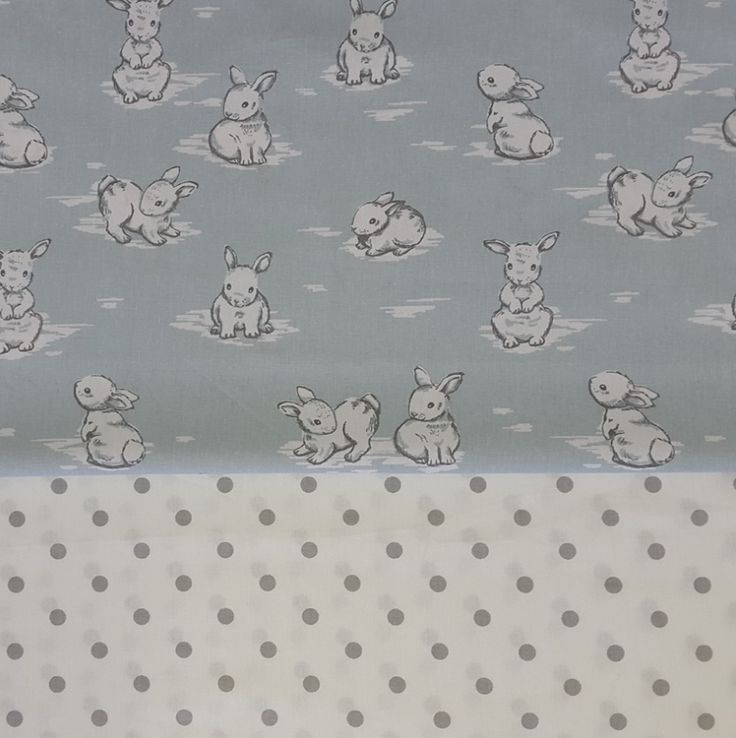 Our #Bunny Hop in #Blue is perfect for any #BabyBoy's nursery!   #BabyBedding #BabyLinen