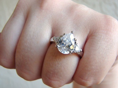 teardrop wedding ring wedding - Teardrop Wedding Ring