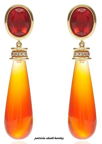 Mexican Fire Earrings - Katherine Jetter
