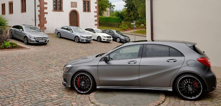 Mercedes-Benz A45 AMG - Photo by Jan Gleitsmann - [A-Class A45 AMG | Combined fuel consumption: 9.1-6.9 l/100km | CO2 emission: 165-161g/km]