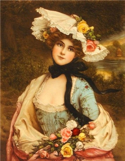 Queen of the Roses ~  François Martin Kavel ~ (French 1861-1931)