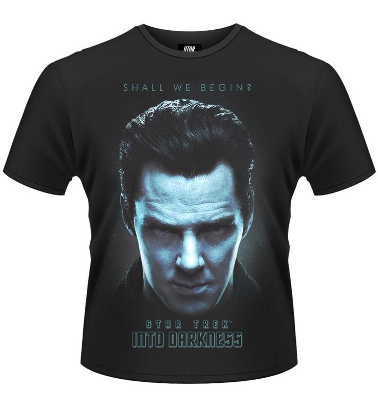 Camiseta Star Trek Into Darkness (en la oscuridad). Shall We Begin