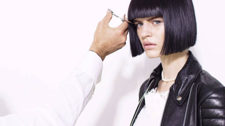 Rodney Wayne, hair by appointment to you. Hannah. Chic bob. Black