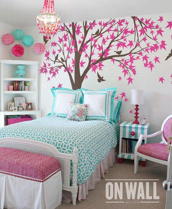 50 Ideas Para Decorar El Cuarto O Dormitorio De Una Chica Adolescente Mil Ideas De Decoración Decoracion De Dormitorios Juveniles Decoracion De Paredes Dormitorio Decoracion De Cuartos Pequeños