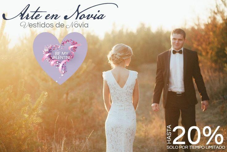 Todo el mes de febrero esta lleno de sorpresas y regalos, así que Arte en Novia quiere ser parte y trae para ti descuentos en toda la tienda desde un 10% hasta un 25%,NO TE LOS PIERDAS !!!!! #descuentos #wedding #arteennovia  #love #fashion  #amor #febrero #bride #mesdelamor #felizdiadesanvalentin