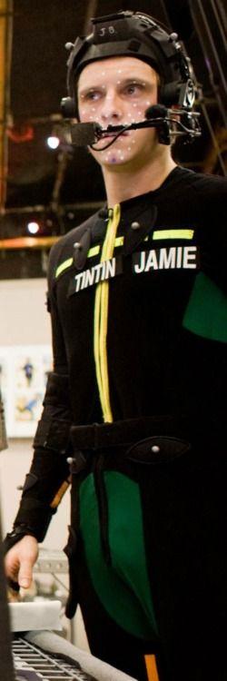 Jamie's Tintin suit.
