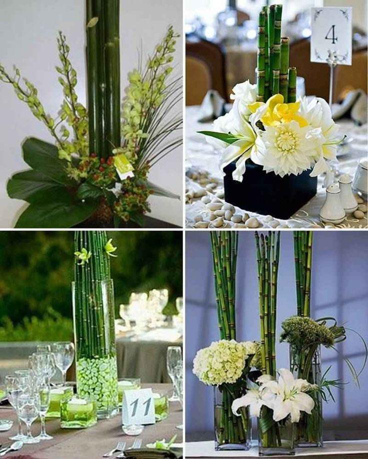 Más de 1000 imágenes sobre centros de mesa de bambú en Pinterest - decoracion con bambu