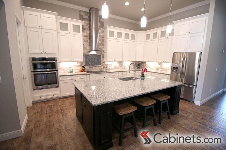 ffc790014a442edb2e0e457233ff5a67--two-tone-kitchen-laporte Ideas Beadboard Backsplash Kitchens Gray on gray beadboard kitchen island, gray beadboard walls, gray beadboard kitchen ceiling,