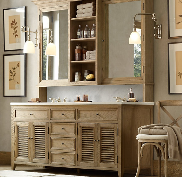 Luxury And How About This Restoration Hardware Bathroom