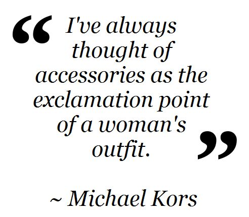 Fashion Words of Wisdom via Closet Full of Thrills.
