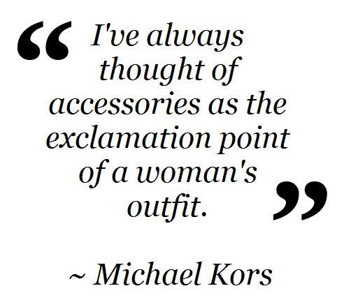 Fashion Quote ~ Michael Kors #TopshopPromQueen