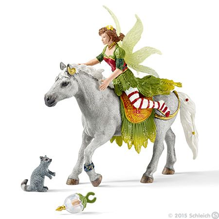 Schleich, Marween in festive clothes, riding