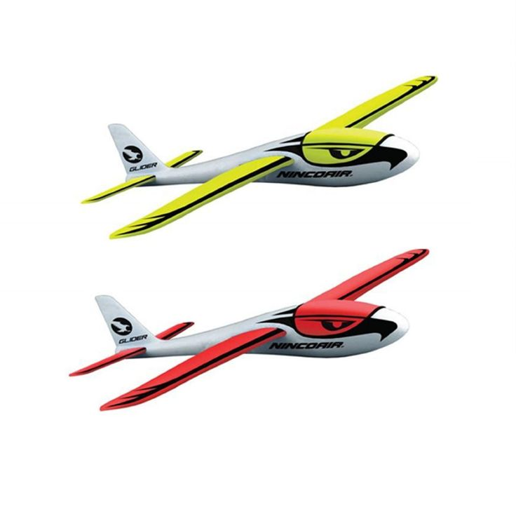 NINCO AIR GLIDER AEROBATIC - The Ninco Air Glider Aerobatic is made out of high quality polystyrene EPP and is very easy to assemble and fly. It is suitable for outdoor use and has a wingspan of 550mm.