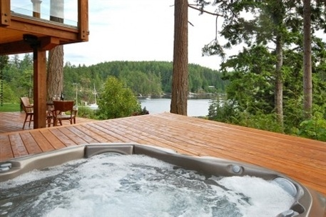 23 best images about awesome hot tubs on pinterest hot tub deck fire pits and other. Black Bedroom Furniture Sets. Home Design Ideas