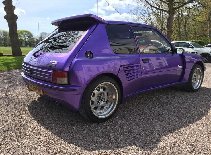 Peugeot 205 auction in United Kingdom | Classic and Performance Car