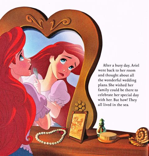 Walt Disney Book Images - The Little Mermaid: Ariel's Royal Wedding - Walt Disney Characters Photo (39369436) - Fanpop