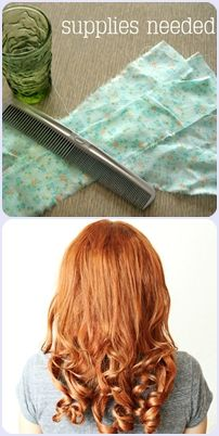 D.I.Y. CURLS: HOW TO RAG ROLL YOUR HAIR