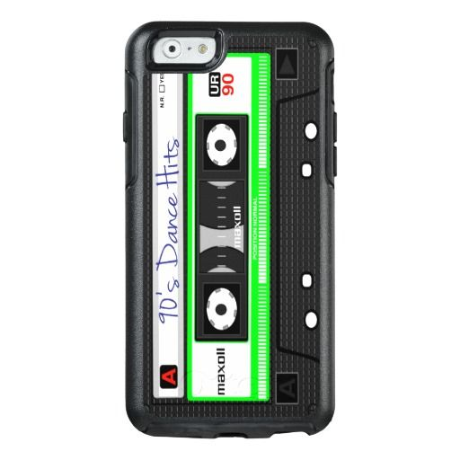 90'S Dance Hits Tape Cassette OtterBox iPhone 6/6s Case