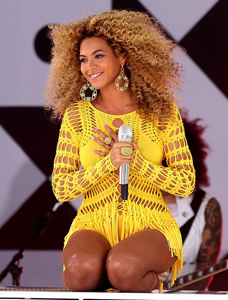 yellow dress beyonce on