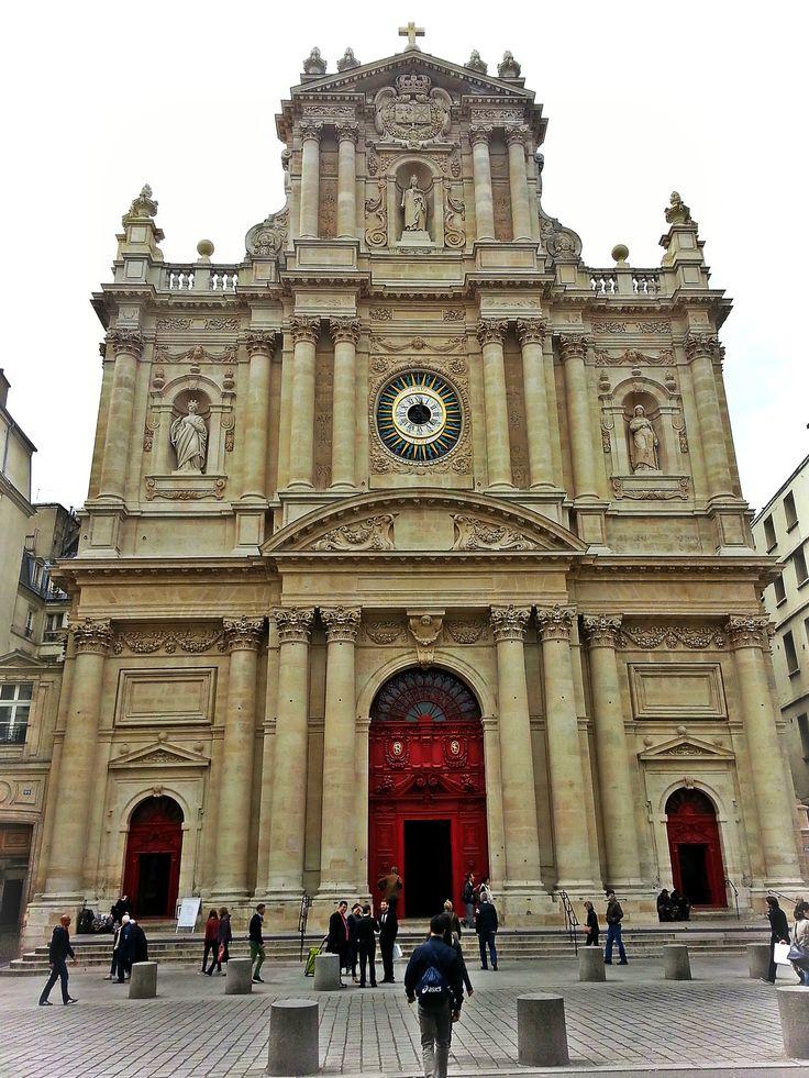 Eglise saint paul saint louis paris louis xiii for Architecture classique