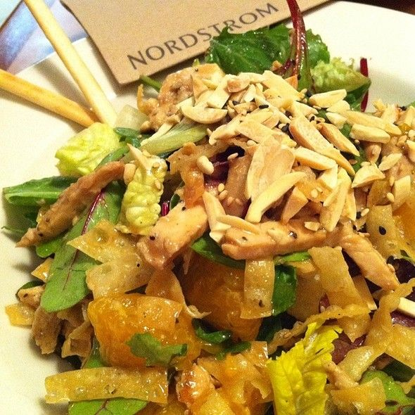 Chinese Chicken Salad @ Nordstrom Marketplace Cafe