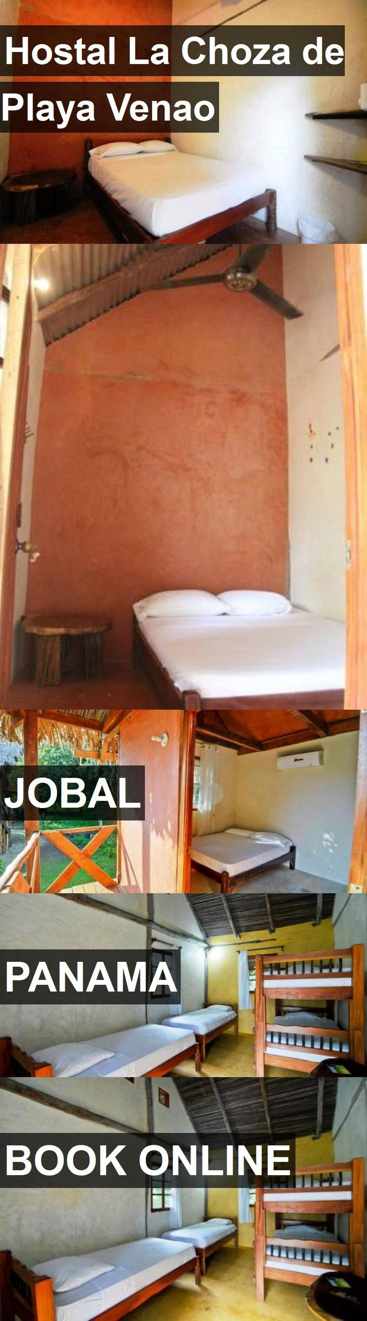 Hotel Hostal La Choza de Playa Venao in Jobal, Panama. For more information, photos, reviews and best prices please follow the link. #Panama #Jobal #travel #vacation #hotel