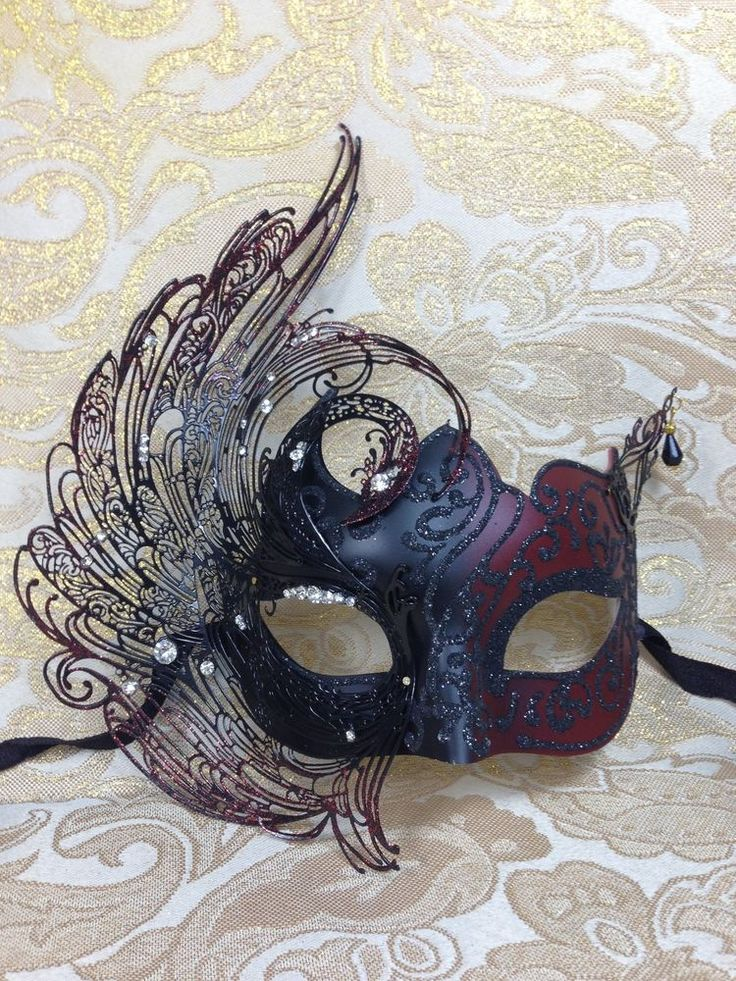 Details about Beautiful Elegant Venetian Mask Mardi Gras Halloween Ball Prom Masquerade Mask