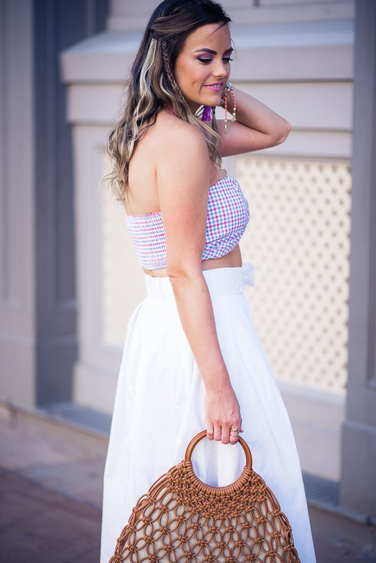 a must have summer crop top! | by Houston Fashion Blogger, The Styled Fox