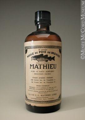 l'huile de foie de morue… Je confirme, à jeun, c'est pas fameux !