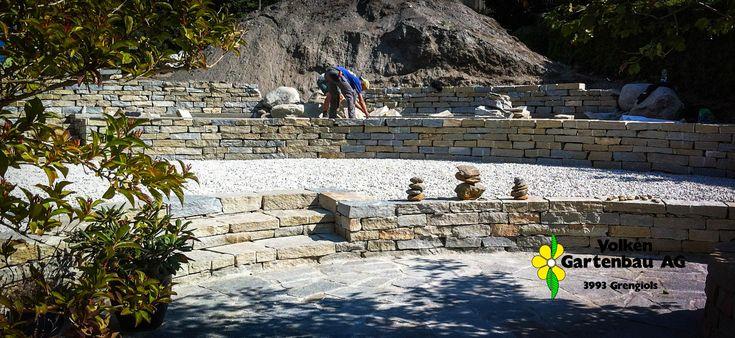 Natursteinarbeiten Gartengestaltung