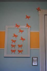 escaping butterflies - Homemade Bedroom Decor