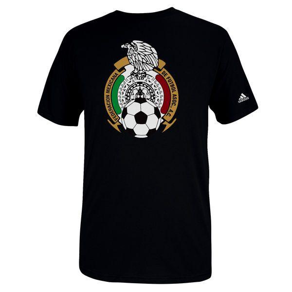 Mexico adidas Futbol Crest T-Shirt - Black