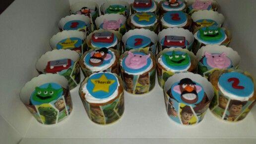 Toy story cupcakes #partycakefun
