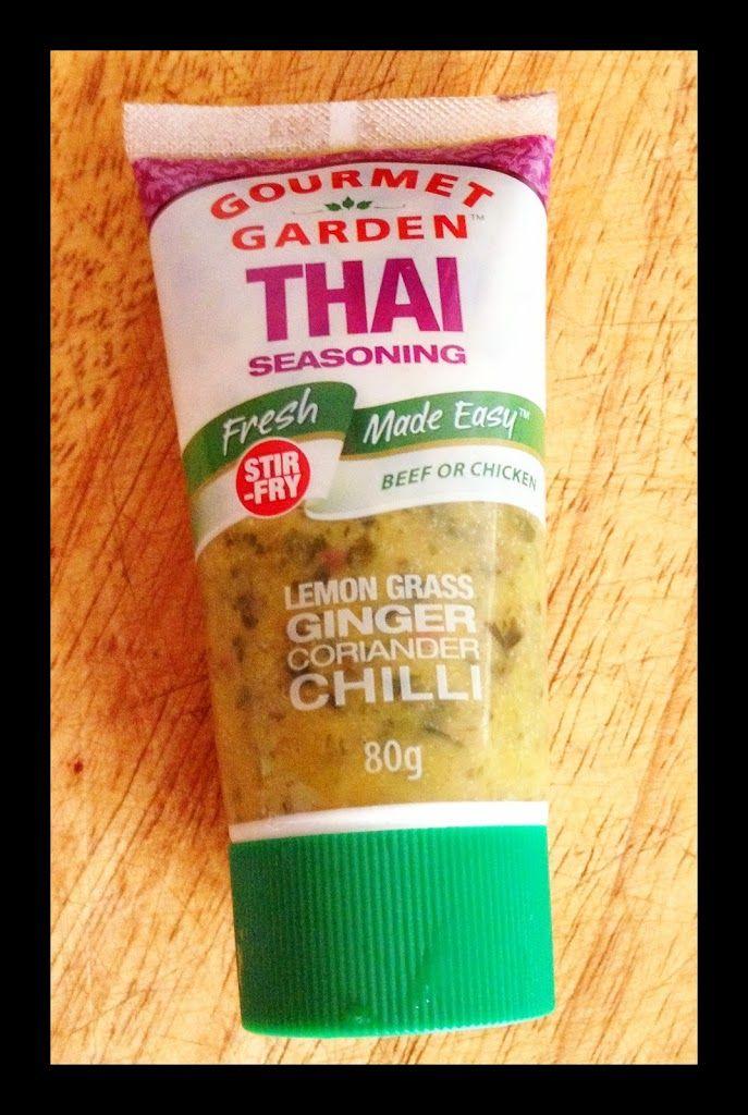 WARM THAI BEEF SALAD - GOURMET GARDEN THAI SEASONING - Cooking for Busy Mums