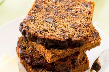 Sugar-free fruit loaf