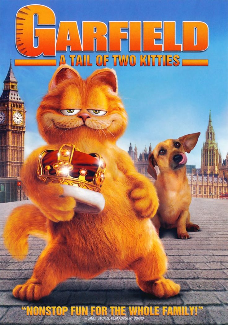This sequel to the 2004 hit GARFIELD: THE MOVIE maintains that film's clever intermingling of live action supporting cast with a CGI-animated Garfield, that self-centered, lasagna-quaffing feline, fam
