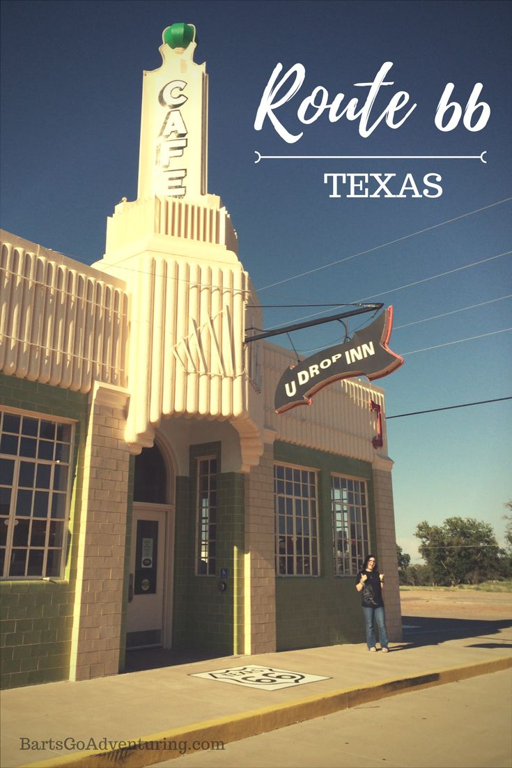 What to see and do on Route 66 in Texas | Shamrock TX | U Drop Inn