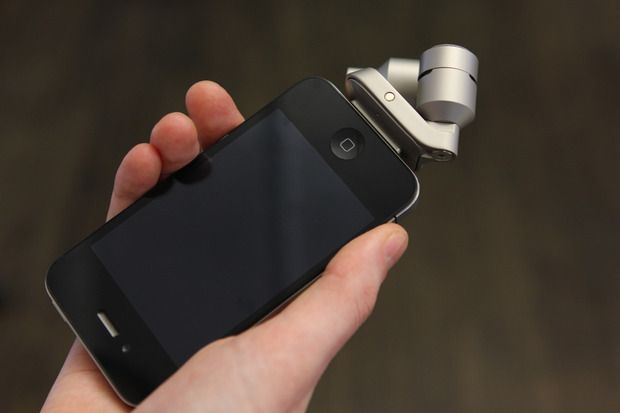iPhone-compatible iXY microphone. This miniature stereo microphone snaps into your iPhone's docking port and using RØDE's Rec app lets you capture high quality audio directly to your device.