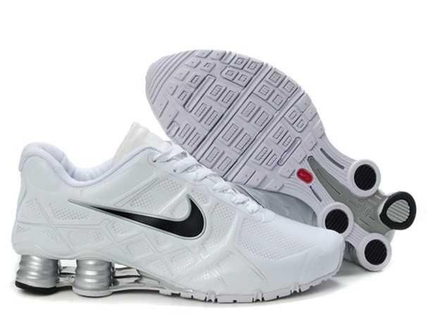 UK - Nike Air Shox Turbo 12 Mens Leather White