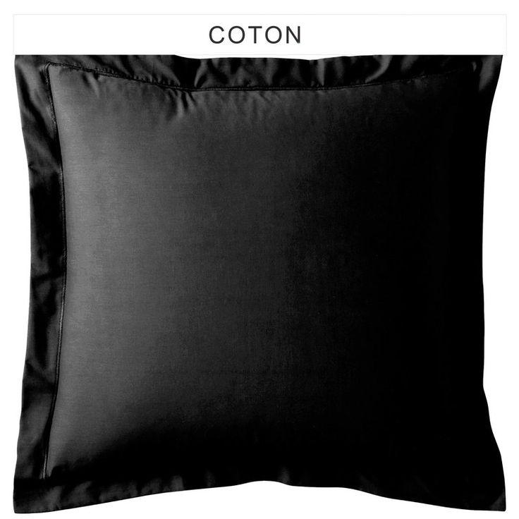 Taie d'oreiller ou rectangulaire unie coton TERTIO®