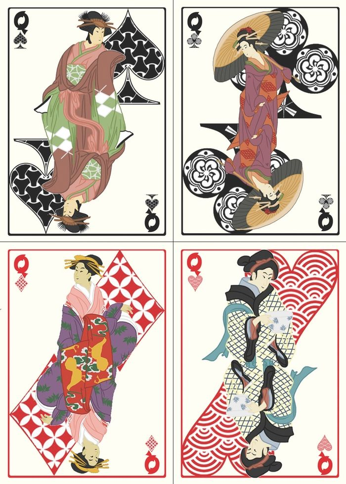 Feudal Japan Playing Cards by Dice of March — Kickstarter