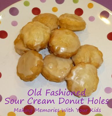 Old Fashioned Sour Cream Donuts - Making Memories With Your Kids