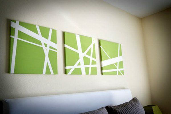 """wohnzimmerwand ideen:Über 1.000 Ideen zu """"Leinwand Selber Gestalten auf Pinterest"""
