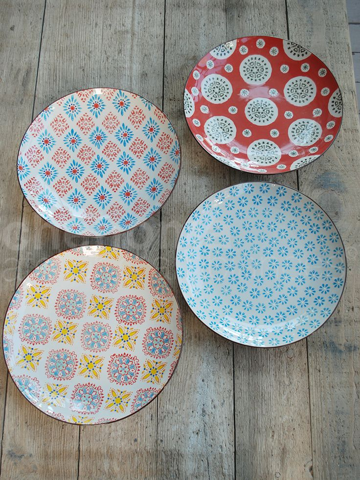 Patterned Plates & 26 best Patterned Tableware images on Pinterest | Dish sets ...